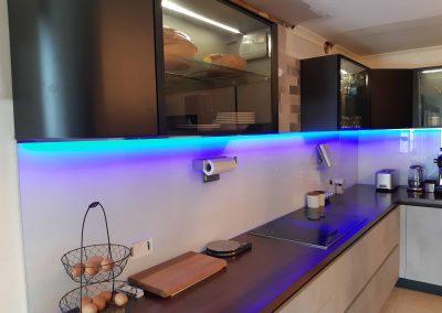 Kitchen Renovation - Handless Italian cabinetry and Dynamic Splashback (4)