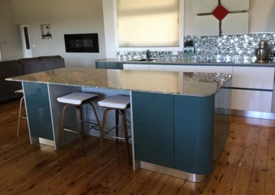 Made in Italy Kitchen with Round units (2)