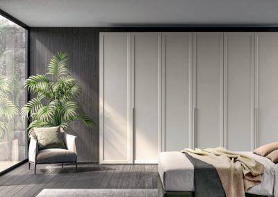 Hinged doors Wardrobe with Framed doors