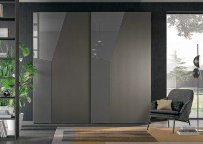 Sliding doors Wardrobe - geometric style