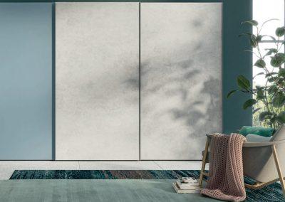 Sliding doors Wardrobe - matt colours
